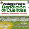 Audiencia Pública de Rendición de Cuentas 2017 Útica