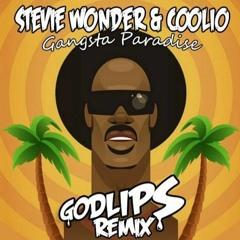 Stevie Wonder & Coolio - Gangsta Paradise (Godlips Remix) (2018)