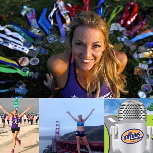 "92 : Running to Fight Pancreatic Cancer : Talking with Julie Weiss ""Marathon Goddess"""