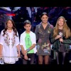 Download سلمى صفوت ، جورج عاصي ، ليل الهاشم - fly me to the moon & علي بابي واقف قمرين -  the voice kids Mp3