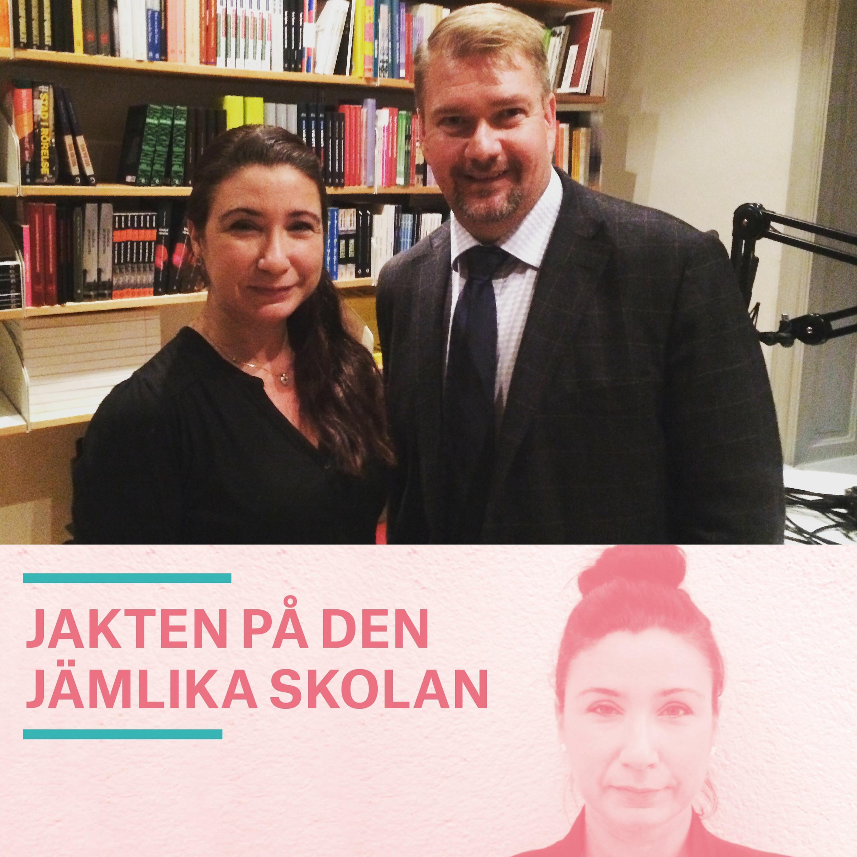 Skolan som en del av en större jämlikhetsvision – samtal med statssekreterare Erik Nilsson