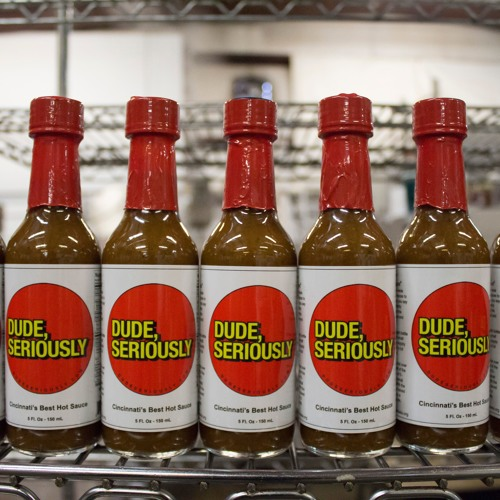 "Dude Seriously hot sauce CEO Kai Schneider appears on ""cooking with Marilyn Harris"""