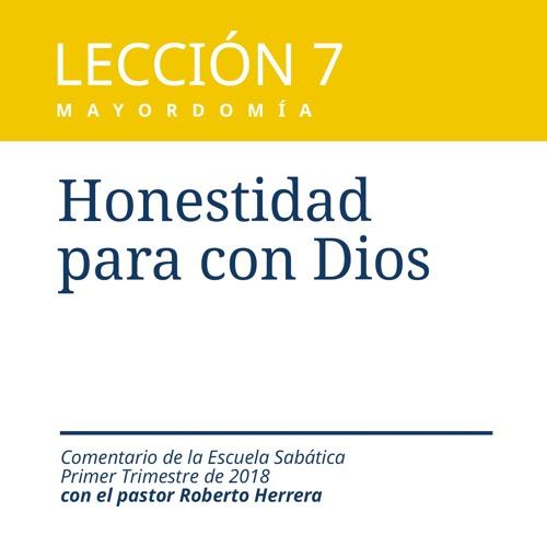 Lección 7 _ Honestidad para con Dios