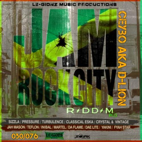 Jam Rock City Riddim 2018 Reggae Sizzla Pressure Turbulence