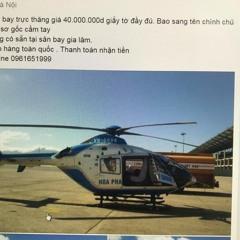 Mua trực thăng