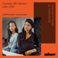 Taliwhoah & Friends (co-hosted by Nia) - 18th January 2018