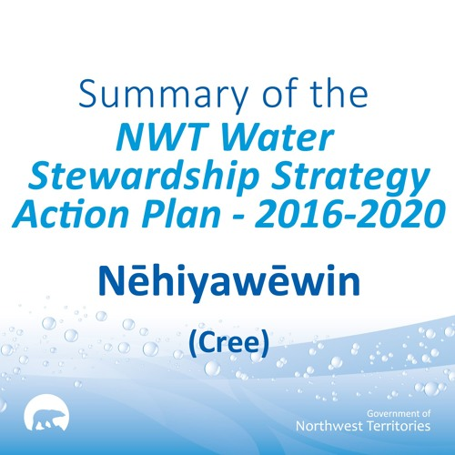 NWT Water Stewardship Action Plan CREE