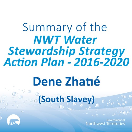 NWT Water Stewardship Action Plan SOUTH SLAVEY
