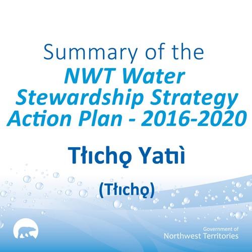 NWT Water Stewardship Action Plan TLICHO