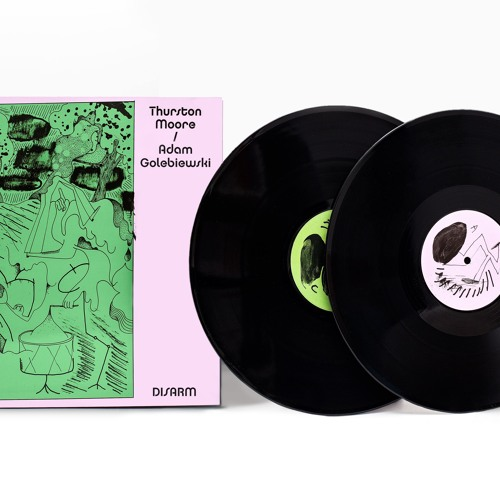 "Thurston Moore / Adam Golebiewski ""DISARM"" [Endless Happiness, 2xLP/CD/MC]"
