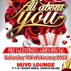 All About You: Pre Valentines Soirée - Sat 10th Feb 2018 @ Nuvo Lounge (Jan 2018)