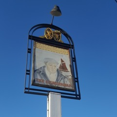 The Lighterman Public House, Thames View Estate, Barking - squeaking Sign