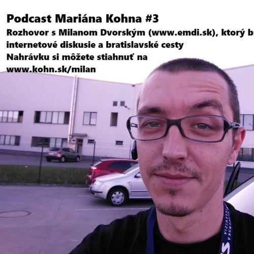 Rozhovor: Milan brázdi internet a bratislavské cesty