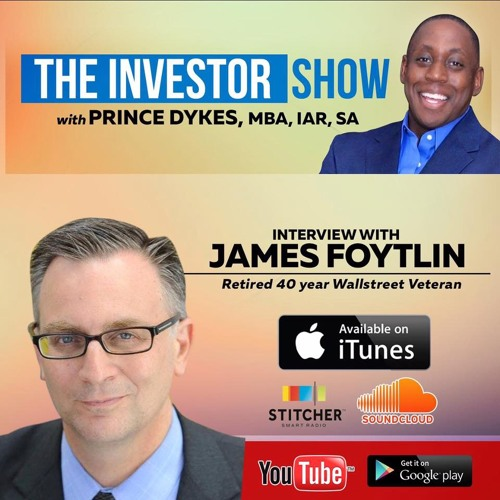 Can Cryptocurriences excel w/o the Stock Market excelling? W/ Wallstreet Vet James Foytlin