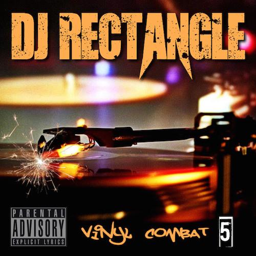 dj rectangle vinyl combat 2