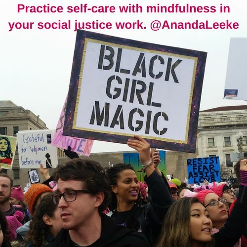 #ThrivingMindfully - Practice Self-Care with Mindfulness in Social Justice & Human Rights