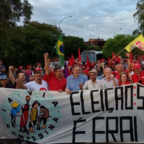 Boletim Rádio Brasil de Fato | Cobertura Eleição sem Lula é Fraude