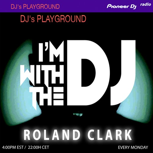 PDR SHOW #60- I'M WITH THE DJ- ROLAND CLARK  (SPECIAL BURRELL / NU GROOVE RECOR