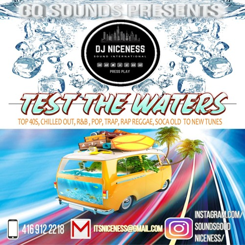 TEST THE WATERS MIX CD MIX MP3 SERIES