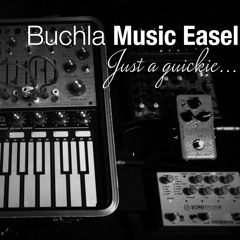 Buchla Music Easel - Just a quickie