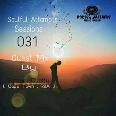 SOULFUL ATTEMPTS SESSIONS - GUEST MIX - DJ  TAMARA