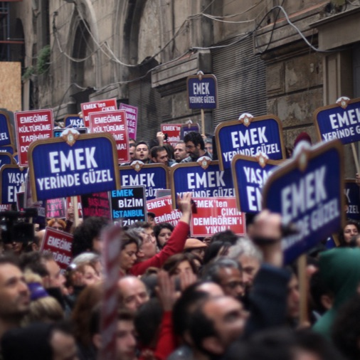 Emek Cinema and Contesting Istanbul's Urban Development