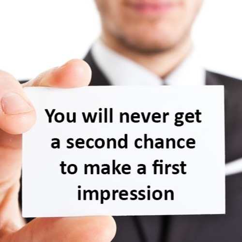 The Art Of The First Impression