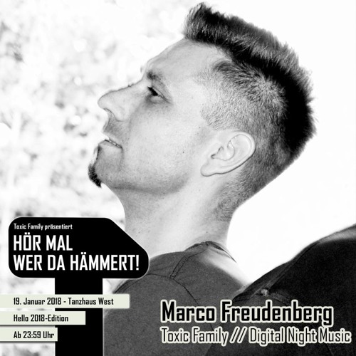 Marco Freudenberg - HELLO 2018 EDITION - Thanks for dancing