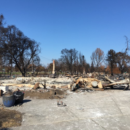 Looking for New Pollutants in Sonoma Ash