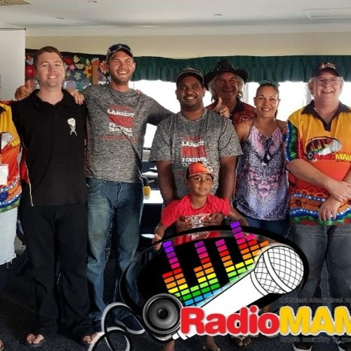 180124 LM Int With JoKera Group From Roebourne Enjoying Their First TCMF