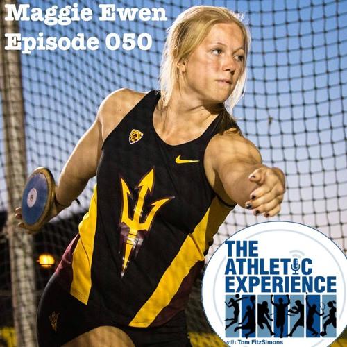 050 - Maggie Ewen - NCAA Hammer Throw Record Holder - Shot / Weight / Disc / Hammer - THROWER