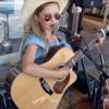 10 Yo Georgia from Traralgon is one of the youngest buskers at the Tamworth Country Music Festival.