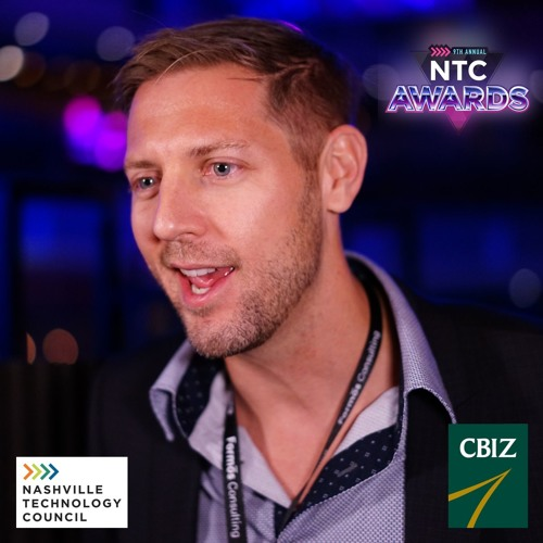 Chris Redhage - Emerging Leader of the Year at the NTC Awards 2018