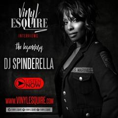 VINYL ESQUIRE WITH DJ SPINDERELLA