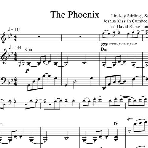 The Phoenix Piano Accompaniment Sample