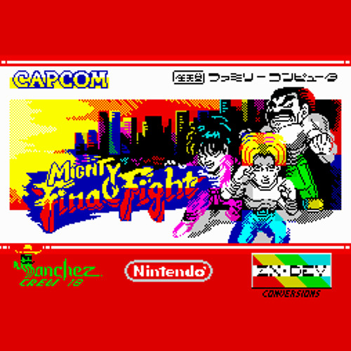 Mighty Final Fight OST (ZX Spectrum)