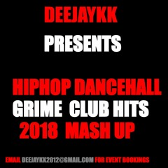 Hiphop Dancehall & Grime Club Hits (Explicit) 2018 Mix By DEEJAYKKGH