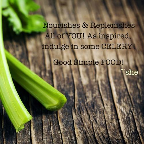 BeSimply...Celery {Food Alchemy}