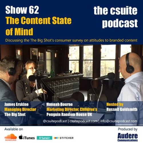 Show 62 - The Content State Of Mind - Attitudes to Branded Content