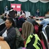 Amna Abdul speaking at the BAME Labour consultation