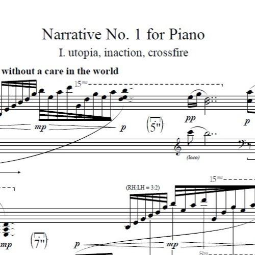 Narrative No. 1 for Piano, III: ruckus, gregarious, æternal
