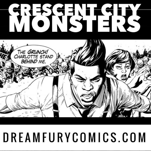 Ep. 59 - New Orleans Zombies n Blues - Newton Lilavois - DreamFuryComics
