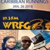 JAN. 26TH 2018 PT.1 CARIBBEAN RUNNINGS