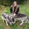 154: Kirsty Major, English With Kirsty: Her Guide Dog Cindy and A Visit With Wolves