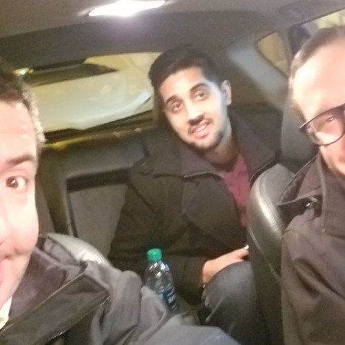 'Two shady looking-fellas; must be comics' - Team Us Comedy's Vik and Tyler eat tacos