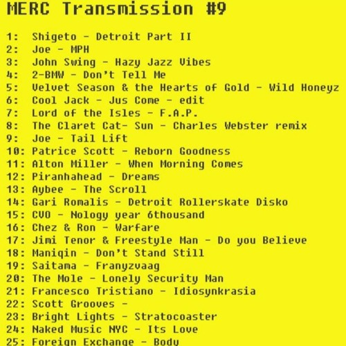 MERC Transmission 9