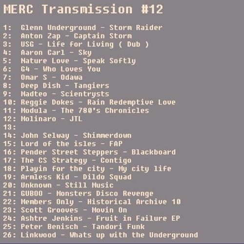 MERC Transmission 12