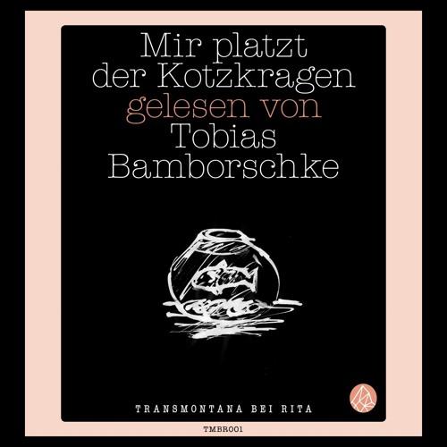 """Tobias Bamborschke liest Tobias Bamborschke, """"Mir platzt der Kotzkragen"""""""