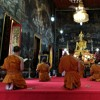 Buddhist chant in Bangkok Thailand