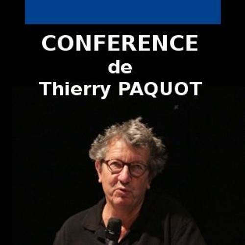 Conférence Thierry Paquot Dicorue 11/01/2018